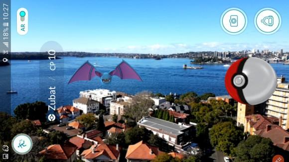 Pokémon Go. Bahía de Sidney, Australia © Flickr Usuario: Ryan Tracey. Licencia CC BY-SA 2.0
