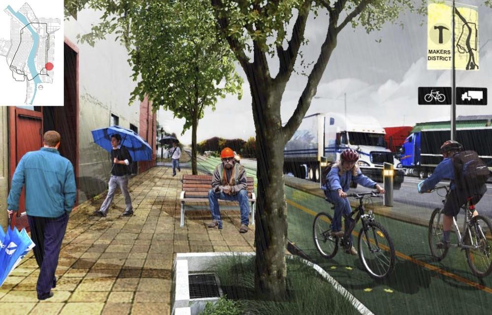 Vista sur de la 7ª avenida. Fuente: Informe del proyecto