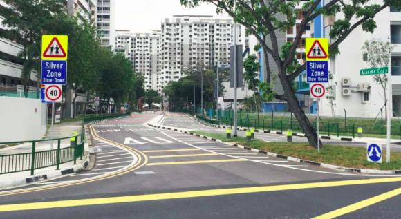 Zonas de Plata Singapur Foto LTA 4