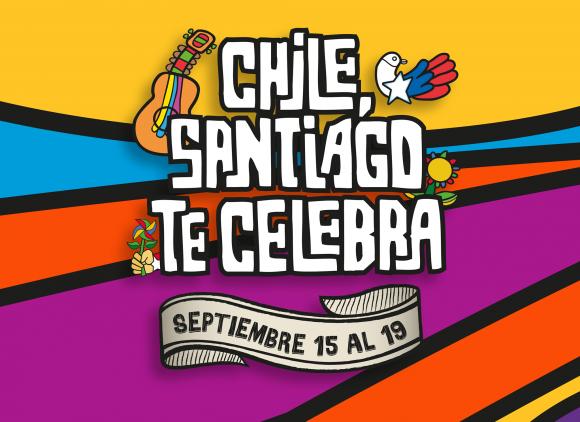Afiche Chile Santiago te celebra