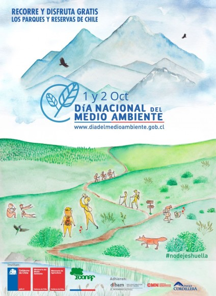 Afiche MMA Dia Nacional del Medio Ambiente Chile 2016
