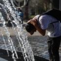 Santiago agosto calido seco