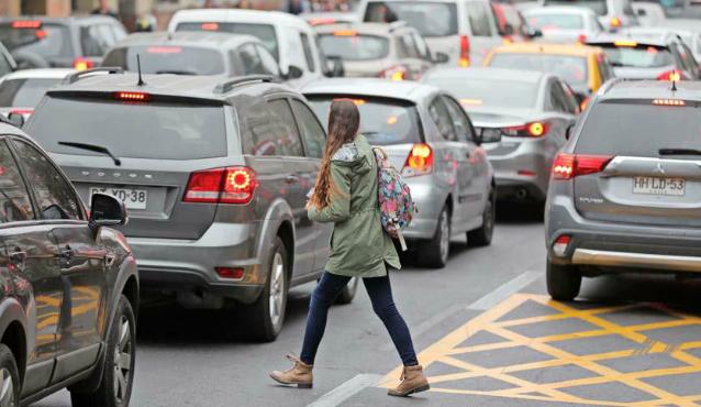 Peatones multas Chile