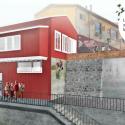 Restauracion ascensor Espiritu Santoa Valparaiso