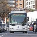 Bus electrico gratuito Santiago