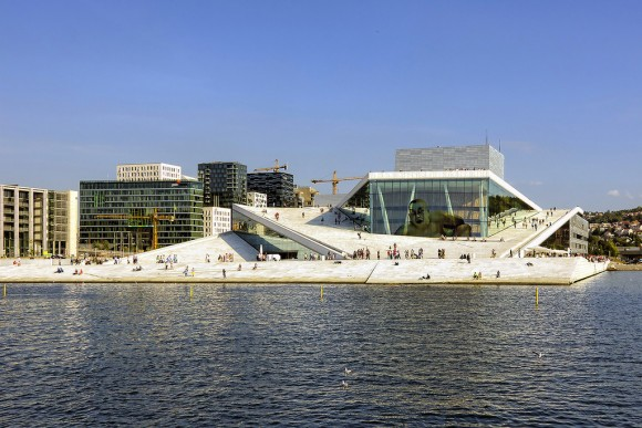 Casa de la Opera Oslo Flickr Usuario Wojtek Gurak Licencia CC BY-NC 2.0