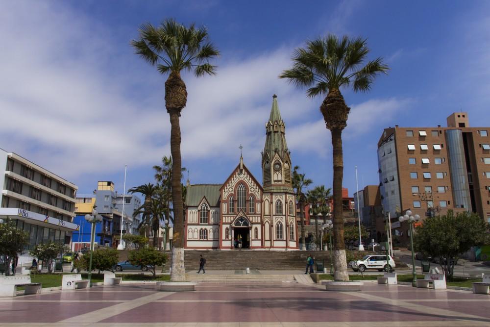 Catedral San Marcos de Arica © Flickr Usuario: Rodrigo Quezada Bunzli. Licencia CC BY-SA 2.0