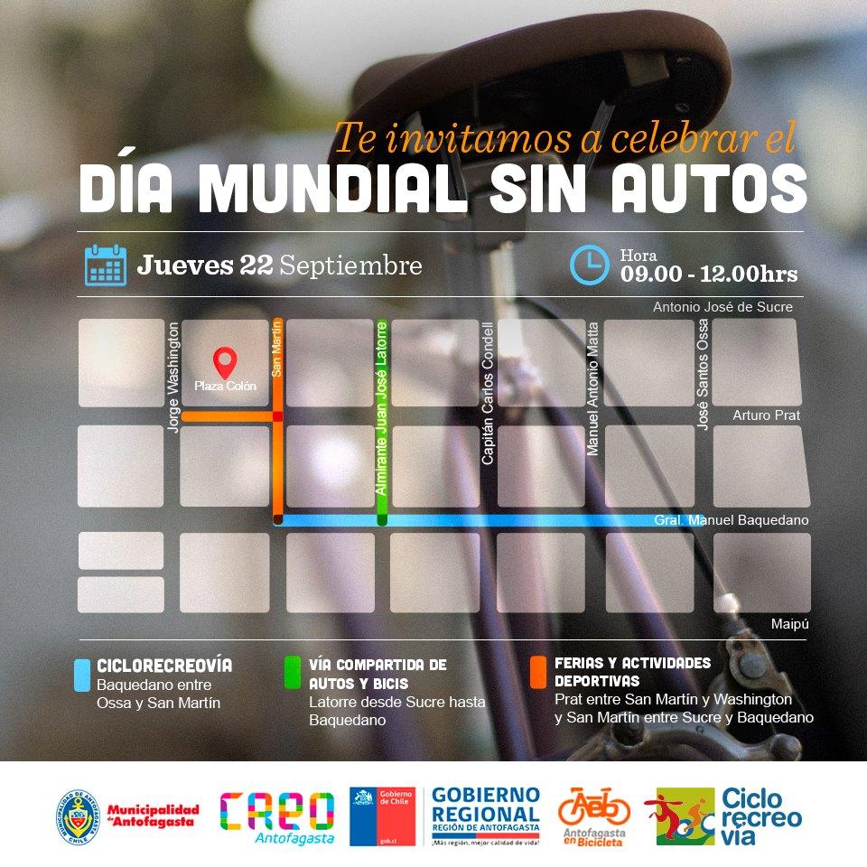 Cierre de Calles DMSA Antofagasta