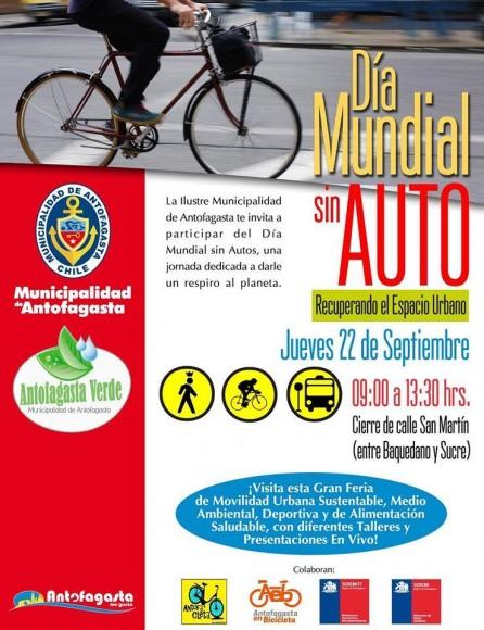 Dia Mundial Sin Autos 2016 Antofagasta