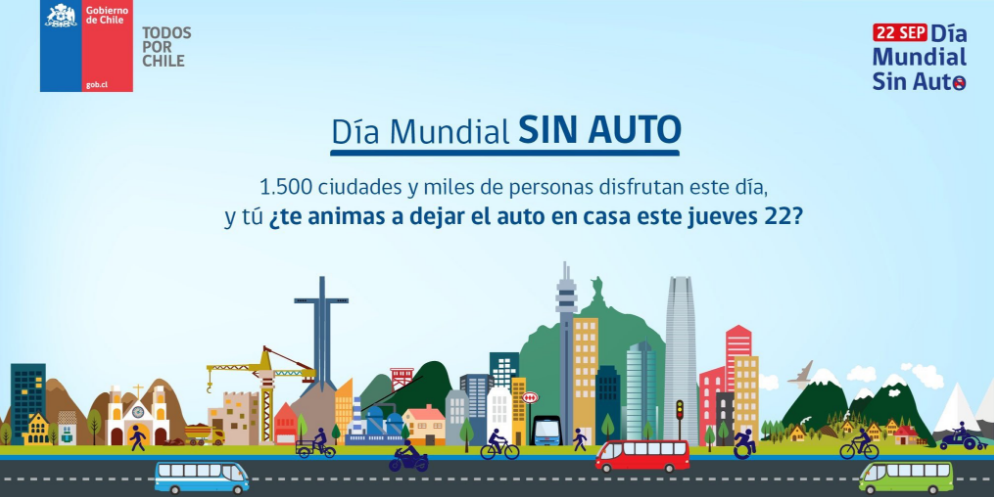 Dia Mundial Sin Autos 2016 Chile 2