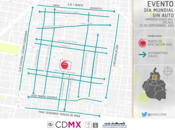 Dia Mundial Sin Autos 2016 Ciudad de Mexico