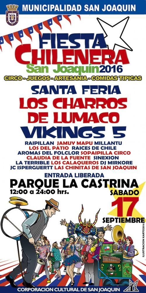 Fiestas Patrias 2016 Fondas San Joaquin
