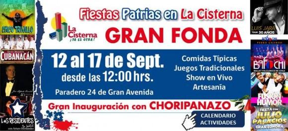 Fiestas Patrias 2016 La Cisterna