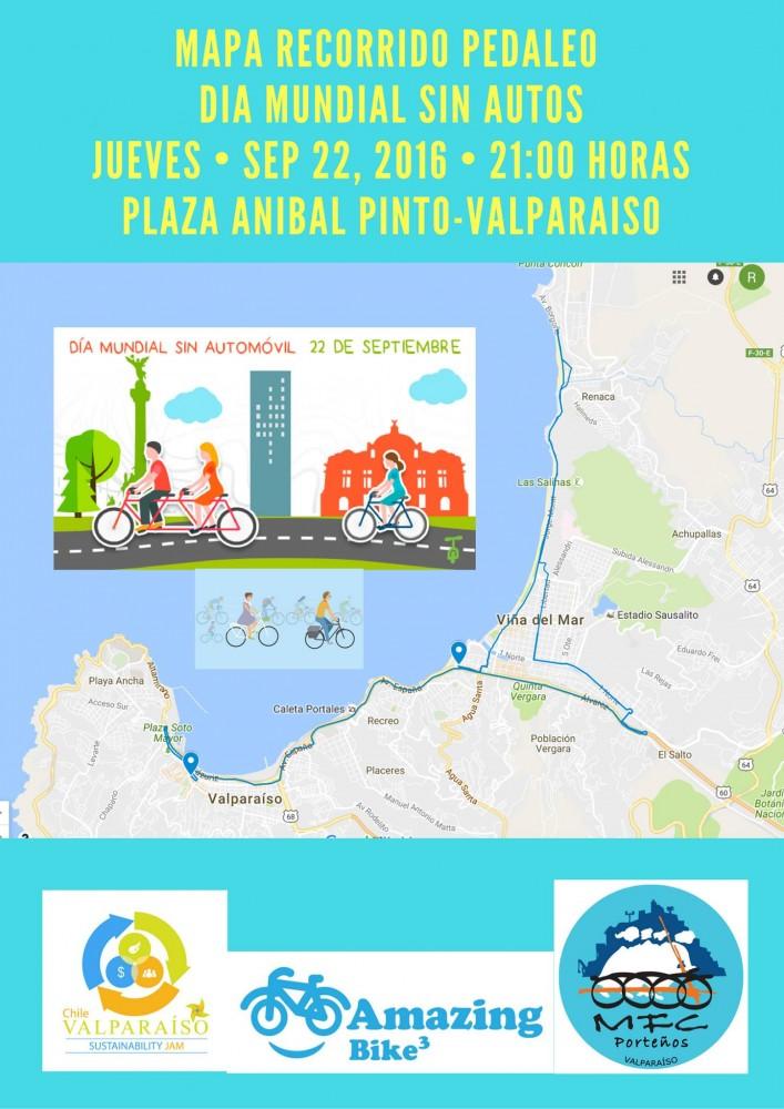 Mapa Cicleta Familiar Valparaiso DMSA 2016
