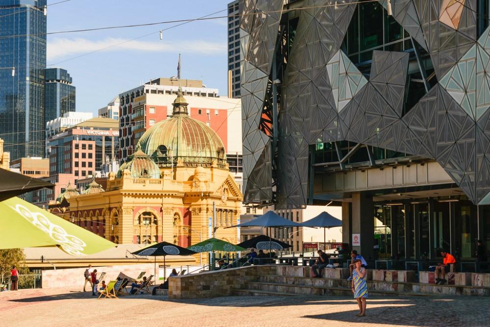 Federation Square, Melbourne. © Flickr Usuario farmboyted. Licencia CC BY-NC 2.0