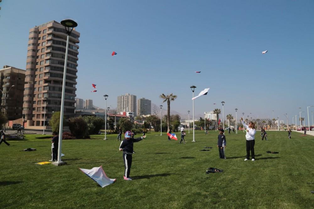 Parque Croacia Fuente foto Municipalidad de Antofagasta
