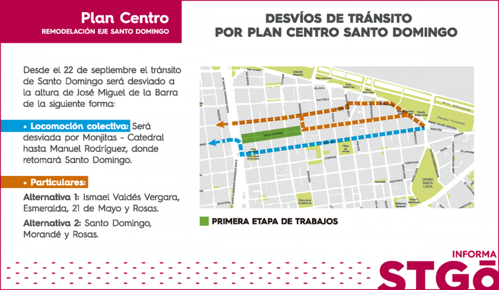 Plan Centro Santo Domingo