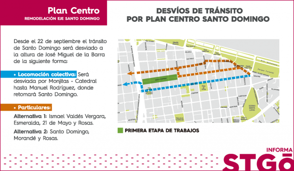 Plan Centro Santo Domingo