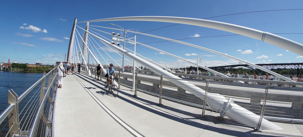 Tilikum Crossing, Portland Flickr Usuario sam_churchill Licencia CC BY 2.0