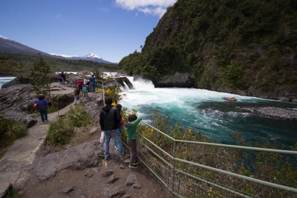 Saltos del Petrohué, Parque Nacional Vicente Pérez Rosales. © Plataforma Urbana
