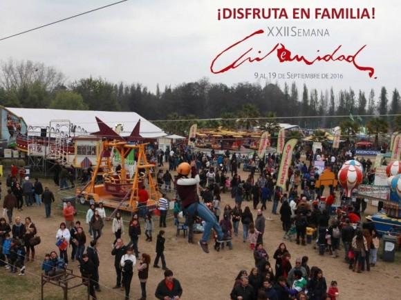 Semana de la Chilenidad Parque Padre Hurtado
