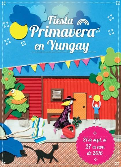 Afiche Fiesta de la Primavera 2016