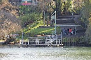 muelles valdivia taxis fluviales
