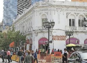 Tienda centro de Santiago calle Puente