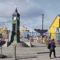 Paseo peatonal Punta Arenas