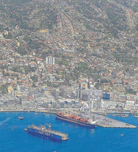 vista aerea valparaiso