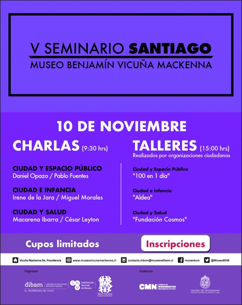 FLYER  V Seminario Santiago MBVM