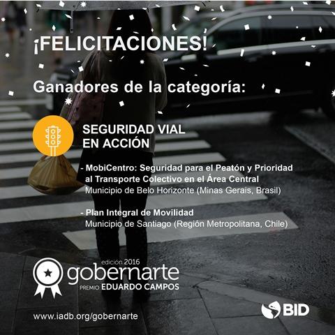 Ganadores Premio Gobernarte 2016