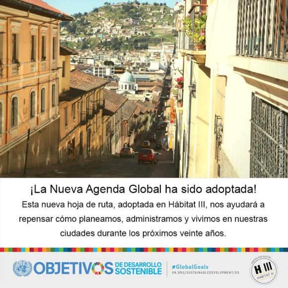 Habitat III Nueva Agenda Urbana