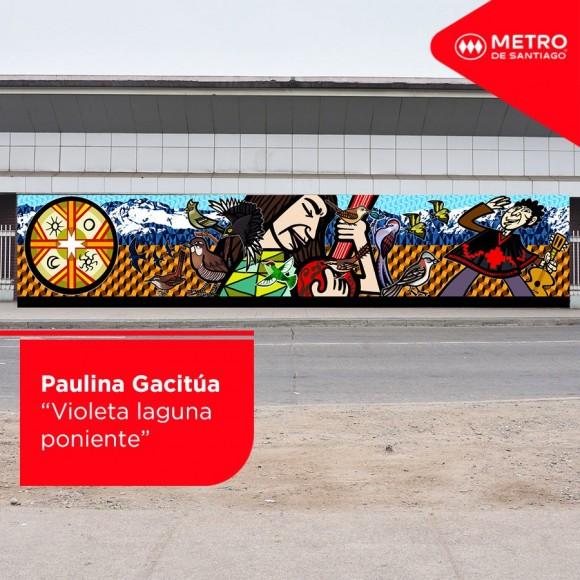 Estaci n san pablo del metro de santiago tendr un nuevo for Mural metro u de chile