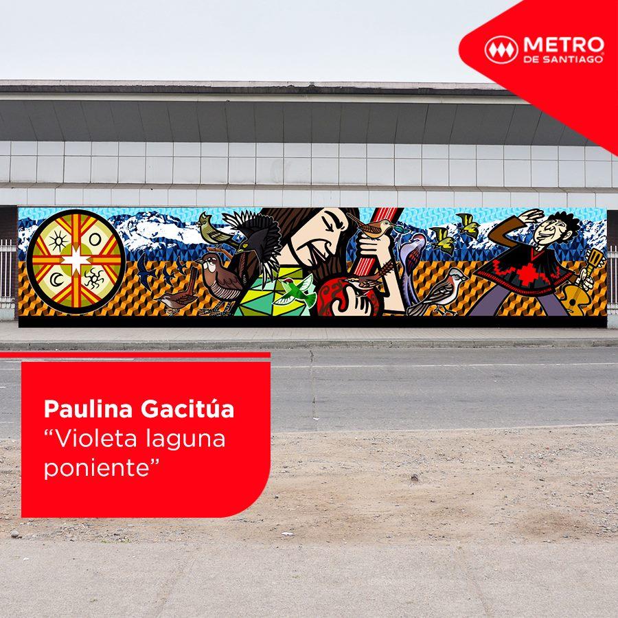 Paulina Gacitua Violeta Laguna Poniente San Pablo Metro de Santiago