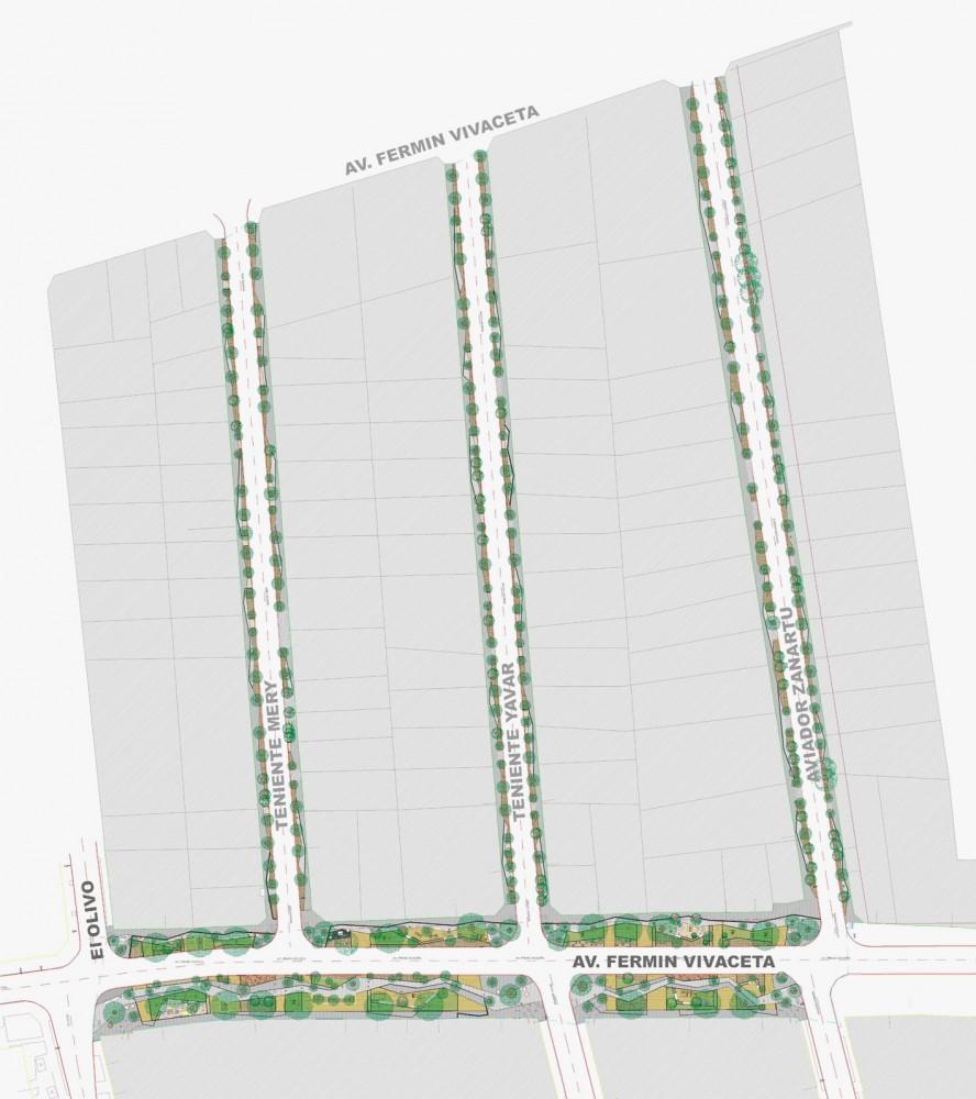 Planta. Cortesía Municipalidad de Conchalí para Plataforma Urbana