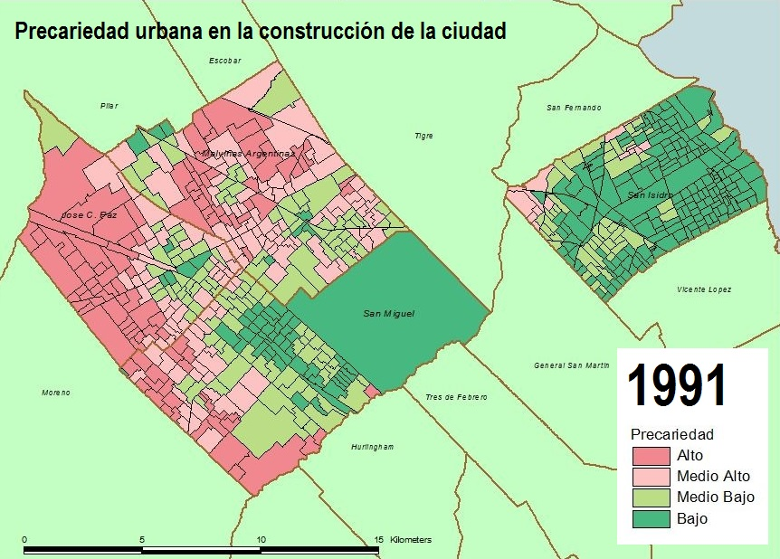 Precariedad urbana 1991
