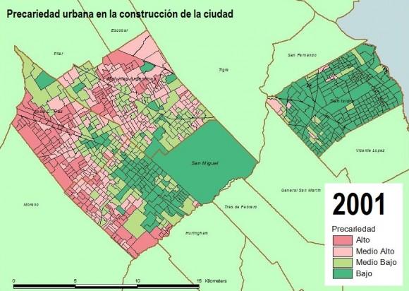 Precariedad urbana 2001