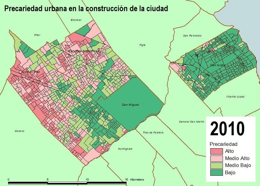 Precariedad urbana 2010