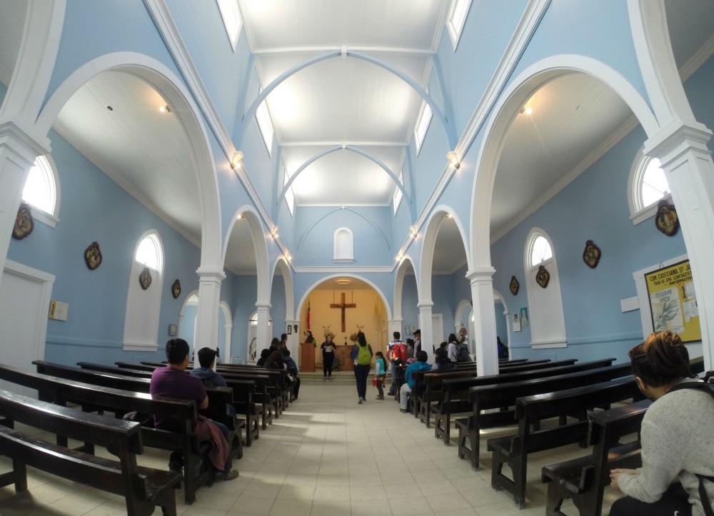 Iglesia de Sewell. © Plataforma Urbana