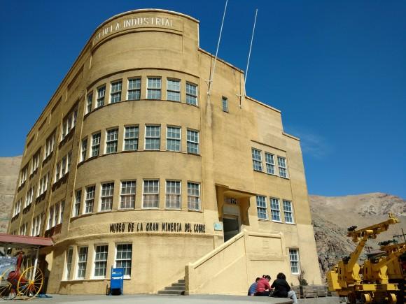 Museo de la Minería del Cobre, Sewell. © Plataforma Urbana