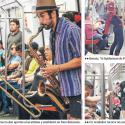 Vendedores cantantes Metro de Santiago