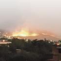 incendio en Chicureo