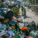 crisis de basura