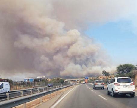 Villa Alemana evacuacion por incendio