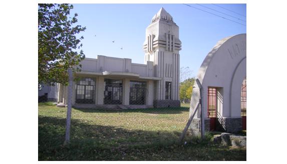 Recuperación del ex matadero Municipal, obra de Salomone y próximo al Centro de la Integración.