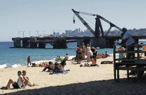 Muelle Vergara Vina del Mar