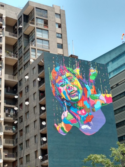 Detalle en Santo Domingo con Teatinos, Santiago. ©Plataforma Urbana