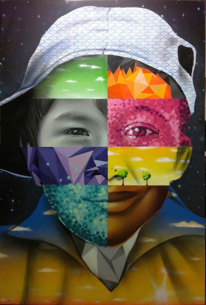 """""""Diversidad en armonía"""", 2012. Cortesía Dasic Fernández."""