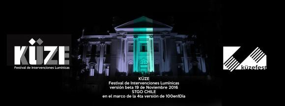 KUZE Festival intervenciones luminicas